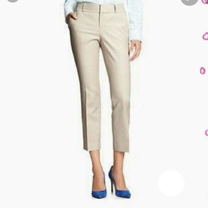 Banana Republic 6 Khaki Martin Fit Ankle Crop